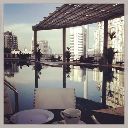 Ascott Kuala Lumpur : Breakfast View (Sky Lounge)