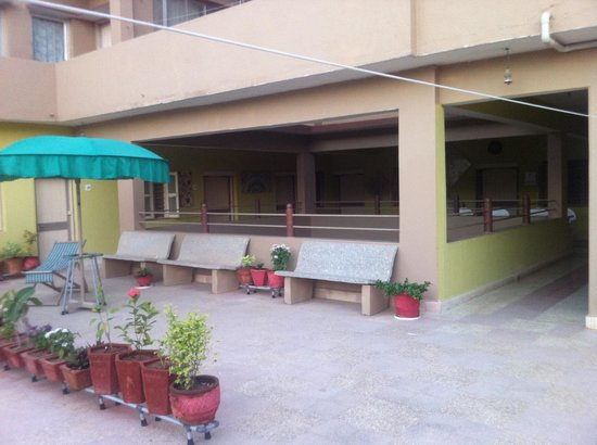 Rukmavati Guest House: part of terrace