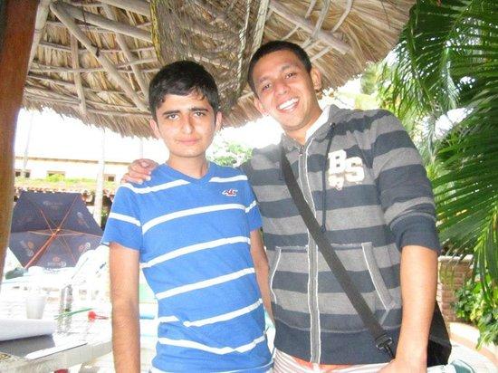 Hotel Playa Mazatlan: El gerente que para mi es una gran persona y amigoo y muy buena onda!!!