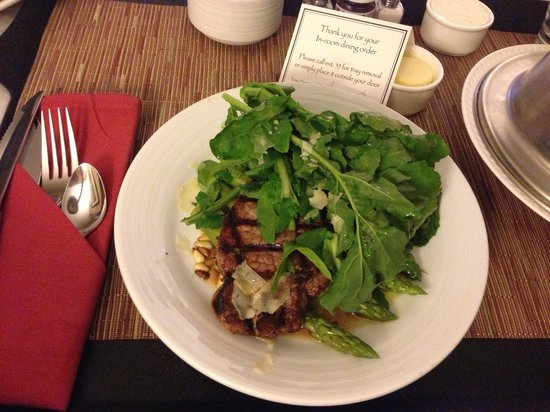 Hyatt Regency DFW: Excellent Tasting New York Strip