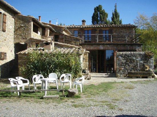 Montalcino, Italië: Il Cocco buildings