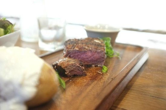 Hippo Creek Bar and Grill: Black Angus Fillet 250g $42.0