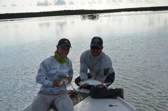 Swain's Cay Lodge: We doubled several times:)