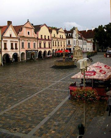 Bily Konicek: view of the square