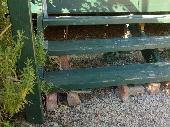 Memory Lane: front steps