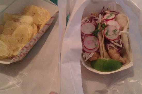 Rockaway Taco: fish taco the best!