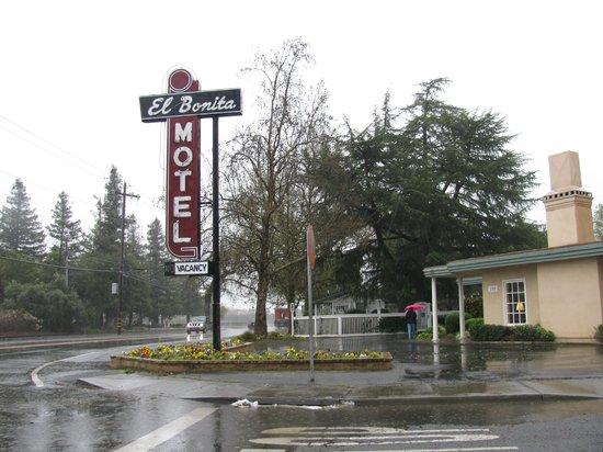 El Bonita Motel: Classic sign