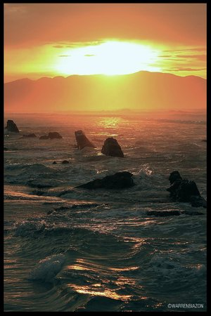 Sunset Rocks at Tondaligan Beach