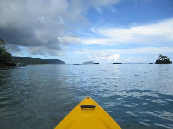 Seabreeze Resort: while out kayaking