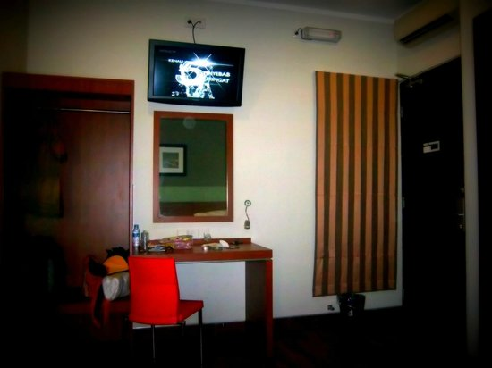 Citihub Hotel: The room