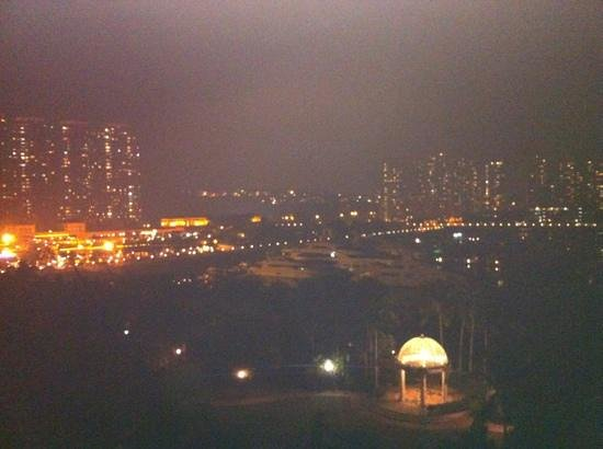 Hong Kong Gold Coast Hotel: view from 5th floor balcony