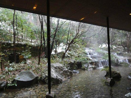 Kinosaki Onsen Nishimuraya Hotel Shogetsutei: ロビーからの眺め