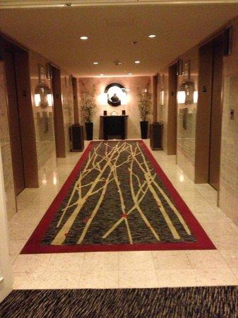 The Mirage Hotel & Casino: elevators