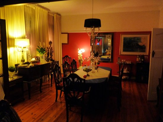 The Chocolate House: the diningroom