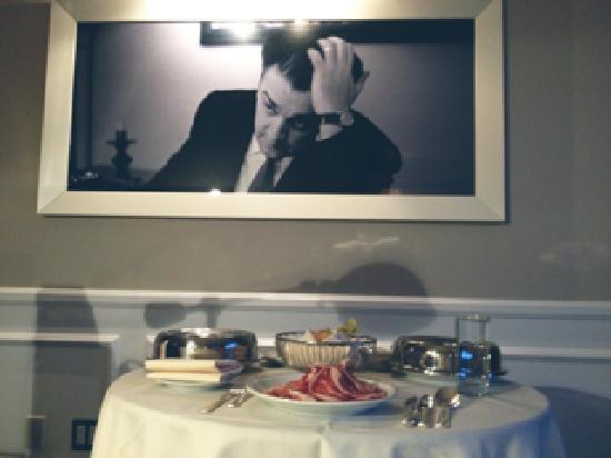 Mr. C Beverly Hills: My in-room dinner :) 