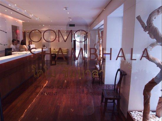 COMO Metropolitan Bangkok: met