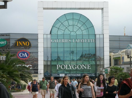Kyriad Montpellier Centre - Antigone: Полигон - торговый центр