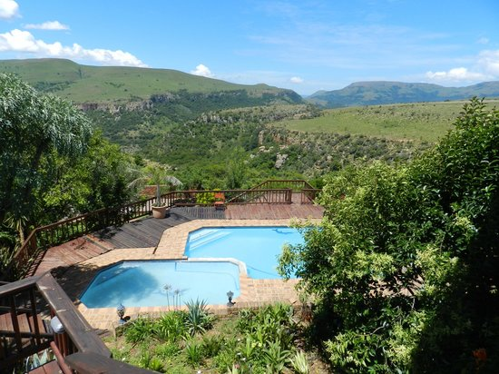 Acra Retreat - Mountain View Lodge - Waterval Boven: Pool