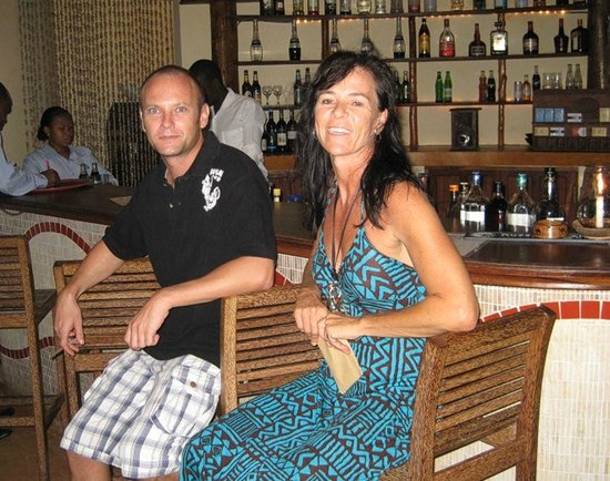 Azanzi Beach Hotel: Kobi and Cara
