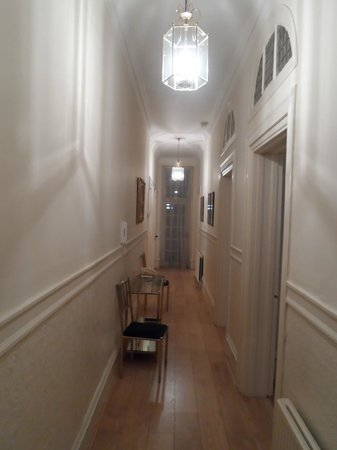 No 1. The Mansions by Mansley: the hallway leading to all the rooms and loung area