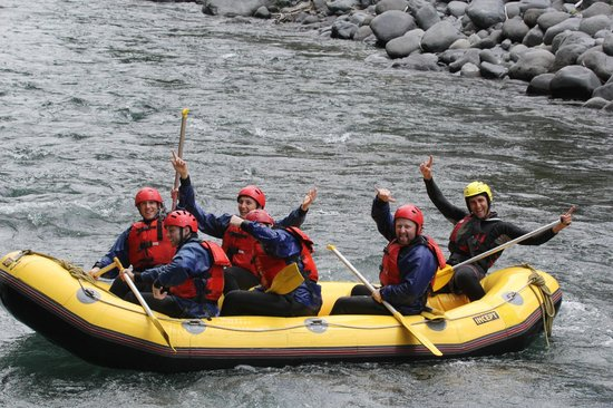 Tongariro River Rafting: After an AWESOME time