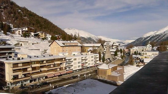 Kulm Hotel St. Moritz: View from room 489