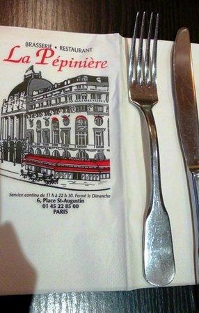 Brasserie Pepiniere : адрес: Place St. Augustin, 6