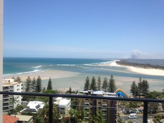 Aspect Caloundra: view from one of the 11th floor balconies - photo didn't do it justice