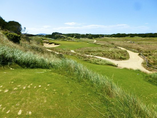 Lost Farm Barnbougle Golf Course: 18a
