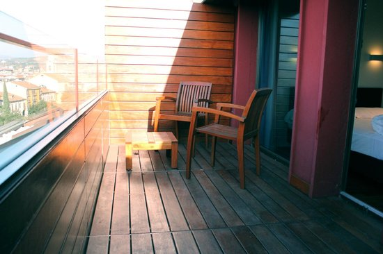 Hotel Verona: balcony