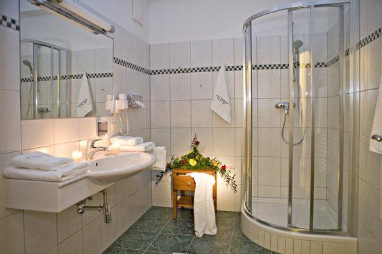 Feinschmeck: Badezimmer im Appartement