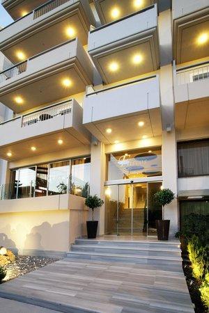 Flisvos Hotel Nafpaktos: hotels entrance