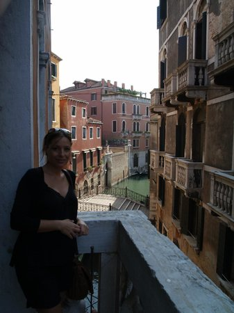 Aqua Palace Hotel: vistas desde el balcón del hall del primer piso