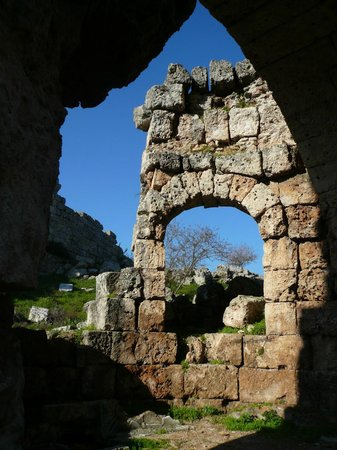 Perge Ancient City: the bath