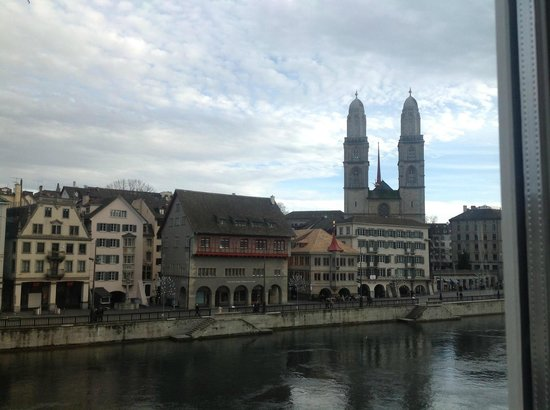 Storchen Zürich: 部屋からの眺めは最高!