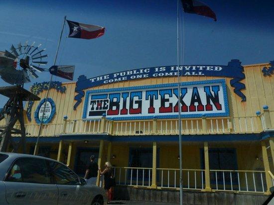Big Texan Steak Ranch: Entrada