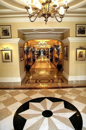 The Imperial Hotel: Corridors