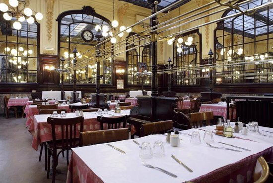 Le bouillon chartier paris op ra bourse restaurant for Paris restaurant