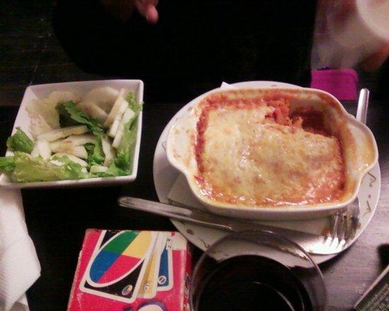 Hearts Cafe: Veggie Lasagne