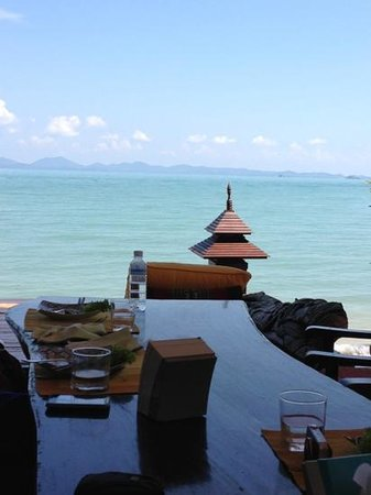 Phuket Thai Cookery School: eat your own meal against thus backdrop