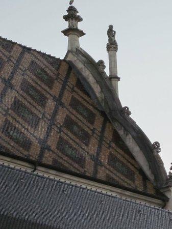 Monastere Royal de Brou : ... il tetto ...