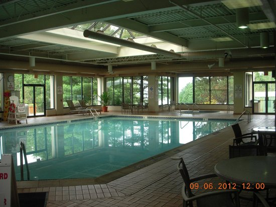Holiday Inn Wilkes Barre East Mountain: Pool area