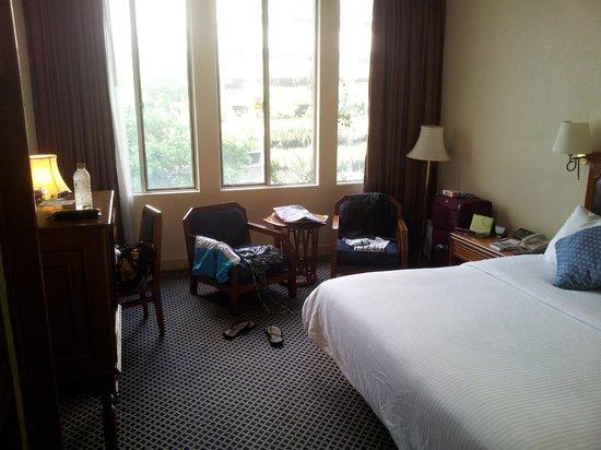 The Tawana Bangkok: værelset