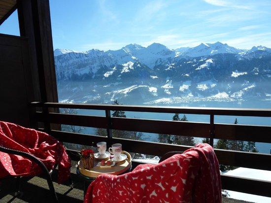 Hotel Gloria: Winter Balcony views
