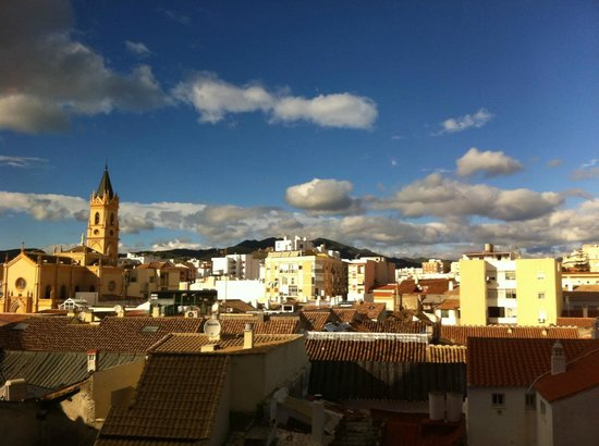 Salles Hotel Malaga Centro : view from room