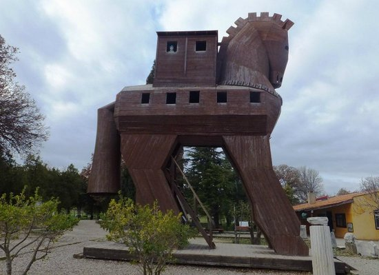 Canakkale, Turkey: The Trojan Horse at Troia