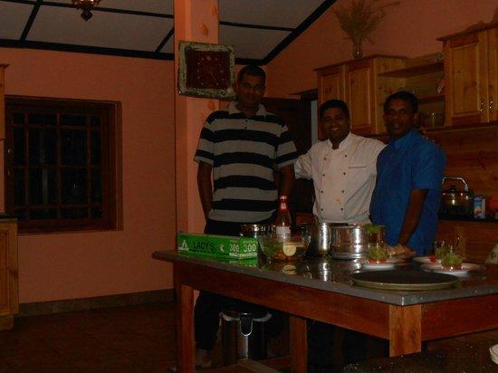 Taprospa Labookellie Villa: Un salto in cucina