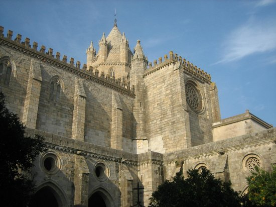 Évora, Portugal: lateral