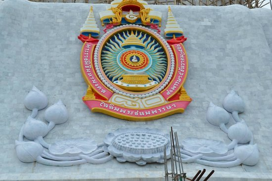 Gran Buda de Phuket: Nærbillede