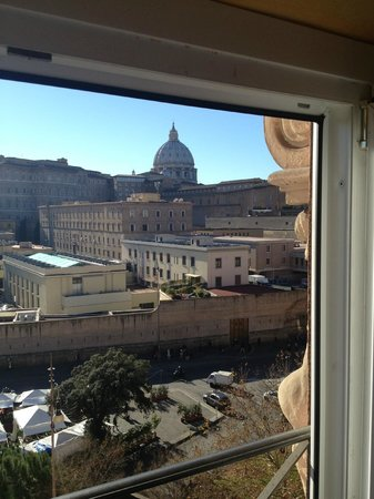 A View of Rome: Vista desde la habitación (View from the room)